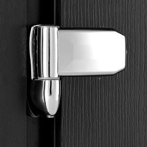 High security hinges