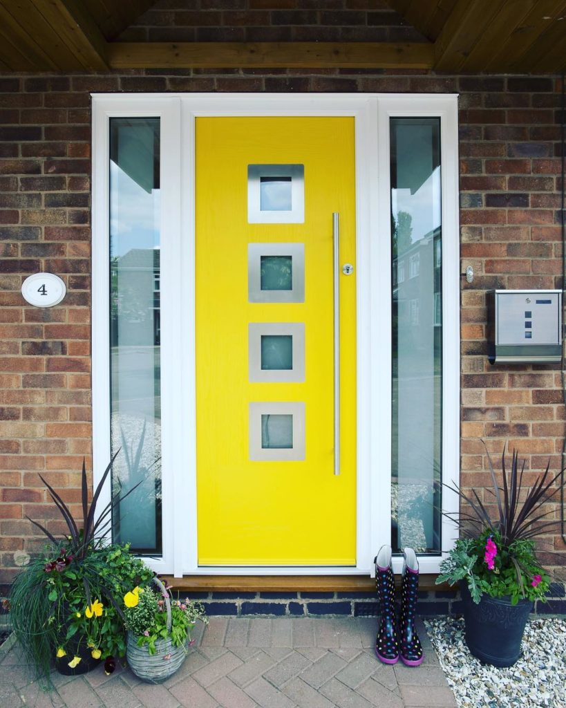 apeer yellow composite door 1